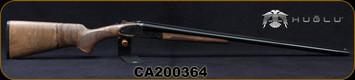 "Huglu - 16Ga/2.75""/28"" - 200AC - SxS Single Trigger - Grade AA+ Turkish Walnut/Case Hardened Receiver/Chrome-Lined Barrels, Extractors, Fixed Choke (M/IC), SKU# 8682109404853-2, S/N CA200364"
