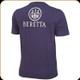 Beretta - Beretta Logo T-Shirt - Navy Blue - XXXL - TS621T14160530XXXL