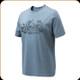 Beretta - Engravers Duck T-Shirt - Avio Blue - Large - TS312T1557059KL