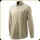 Beretta - Men's Winter Classic Button Down Shirt - Beige - Large - LU641T16430172L