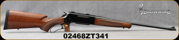 """Consign - Browning - 30-06Sprg - BLR Lightweight - Lever Action - Walnut/Blued, 22""""Barrel, c/w Weaver bases - only 12 rounds fired"""