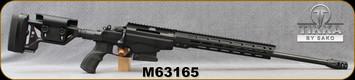 "Consign - Tikka - 260Rem - T3x TAC A1 - Black Modular Adjustable Stock w/13.5"" M-LOK fore-end/Blued, 24""Threaded(5/8-24)Barrel, c/w Vortex Viper High 30mm Rings, Magpul M-Lok Bipod - Less than 100 rounds fired"