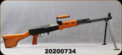 """Consign - Norinco - 7.62x39 - Type 81 SA LMG - Wood Stock/Blued, 19.5""""Barrel, c/w (1) Drum Magazine, (2)30/5rd Magazines, synthetic sling - New, unfired in box"""