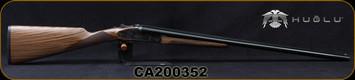 "Huglu - 16Ga/2.75""/28"" - 200AC - SxS Single Trigger - Grade AA Turkish Walnut/Case Hardened Receiver/Chrome-Lined Barrels, Extractors, Fixed Choke (M/IC), SKU# 8682109404846-2, S/N CA200352"