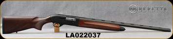 "Used - Beretta - 12Ga/3""/28"" - Model A300 Outlander - Semi-Auto Shotgun - Select Walnut/Blued, c/w 2 chokes (M/C) - in original case"