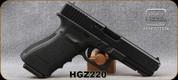 """Used - Glock - 45ACP - Model 21 Gen3 - Semi-Auot Pistol - Black Synthetic Grips/Black Finish, 4.5""""Barrel, in original case"""