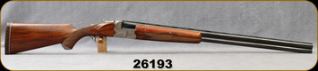 """Consign - Continental Arms/A.Jos Defourny - 10Ga/3.5""""/32"""" - Imperial Crown Grade - O/U - Select Wanut/Engraved Nickel Receiver/Blued Barrels, #193 Chokes stamped on underside of barrels, Orig.Owner's name engraved on tang - Only 75rds fired"""