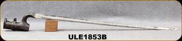 "Used - Enfield - Pattern 1853 Socket Bayonet - 17""Blade"