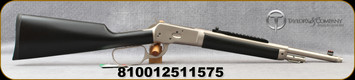 """Taylor's & Co - Chiappa - 357Mag - 1892 Alaskan Chrome Take Down - Lever Action Rifle - Black Soft Touch Stock Stock/Matte Chrome Finish, 16"""" Threaded Barrel, 5 Round Capacity, Peep Sight, Mfg# 920.401"""