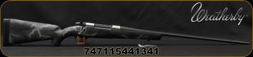 "Weatherby - 280AI - Mark V Backcountry Ti - Carbon Fiber Stock Black/Grey Sponge Accent/Titanium Receiver/Graphite Black Cerakote, 24""Fluted Barrel(26""w/Accubrake Intalled) 4 Round Capacity, Accubrake ST, Mfg# MBT01N280AR6B"