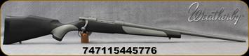 "Weatherby - 6.5PRC - Vanguard Weatherguard - VGD Series 2 Griptonite Stock/24""Tactical Grey Cerakote barrel, 3 round hinged floorplate, Mfg# VTG65PPR4O"