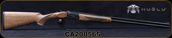 "Huglu - 28Ga/3""/28"" - 103DE Mini - O/U w/Ejectors - Grade AA Turkish Walnut Stock w/Schnabel Forend/Hand Engraved Case Coloured Receiver/Chrome-Lined Barrels, 5pc Mobile choke, SKU# 8681715394671-2, S/N CA200565"