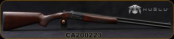 "Huglu - 28Ga/3""/26"" - 103DE - O/U w/Ejectors - Turkish Walnut/Case Coloured Receiver/Chrome-Lined Barrels, 5pc. mobile choke, SKU# 8682109403931, S/N CA200223"