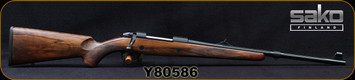 "Sako - 30-06Sprg - Model 85 M Grizzly - Bolt Action Rifle - High Grade Walnut Stock/Blued, 21.3""Medium-Contour Fluted Barrel, Mfg# SAW31D620, S/N Y80586"