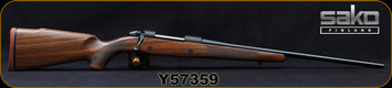 "Sako - 270Win - Model 85 M Hunter - Bolt Action Rifle - Oil-Finish Walnut Stock/Blued Finish, 22.4""Barrel, Single Stage Trigger, 1:10""Twist, 5 round detachable box magazine, Mfg# SAW21H61A, S/N Y57359"