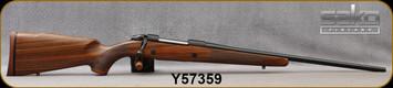 "Sako - 270Win - Model 85 M Hunter - Bolt Action Rifle - Oil-Finish Walnut Stock/Blued Finish, 22.4""Barrel, Single Stage Trigger, 1:10""Twist, 5 round detachable box magazine, Mfg# SAW21H61A, S/N Y57359"