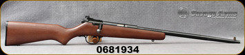"""Consign - Savage - 22S/L/LR - Cadet - Single Shot Rimfire Rifle - Beechwood Stock/Blued, 16""""Barrel - only 50 rounds fired"""