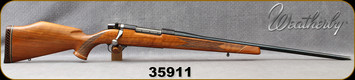 "Consign - Weatherby - 300WbyMag - Mark V Deluxe - Grade AA Walnut/Blued, 24""Barrel, made in Germany"