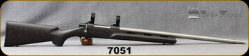 "Consign - Cooper - 243Win - Model 22 Phoenix - Bolt Action, Single Shot Rifle - Black w/Red Web, Kevlar Reinforced Hand-laid synthetic stock/Stainless, 24""Barrel, Jard Target Trigger, 30mm Talley Rings"