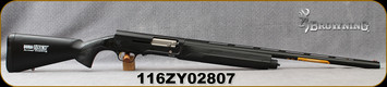 "Consign - Browning - 12Ga/3""/26"" - A5 - Semi-Auto Shotgun - Black Synthetic Stock/Blued, c/w 1 Flush-fit choke(F), (2) extended chokes (M/IC) - New, In original case"