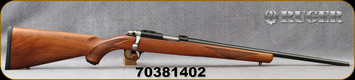 "Used - Ruger - 22WMR - Model 77/22 RP - Bolt Action Rifle - Walnut Stock/Blued, 20"" Barrel 9 Round Capacity, 1""Ruger Rings, Mfg# 07015 - In original box"