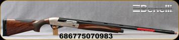 "Benelli - 12Ga/3""/30"" - Ethos Sport - Semi-Auto Shotgun - AA-Grade Satin Walnut/Brushed Nickel Receiver/Blued Ported Barrel, 4+1 Capacity, Mfg# 10495"