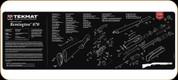 TekMat - Gun Cleaning Mat - Remington 870 - TEK-R36-REM-870