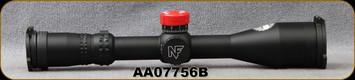Used - Nightforce - NX8 - 4-32x50mm - SFP - ZeroStop - .1 Mil-Radian - Diglllum - PTL - MIL-CF2D Ret - Matte - C640 - Demo Model - in original box