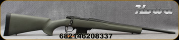 "Howa - 222Rem - 1500 Lightweight Mini Action - OD Green HTI synthetic, pillar-bedded stock/Blued, 20""Barrel, 5 round detachable magazine, Mfg# H222LT"