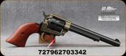 """Heritage - 22LR - Rough Rider - Single Action Rimfire Revolver - Cocobolo Wood Grips/ Case Hardened Frame/Blued Barrel & 9-round Cylinder, 6.5""""Barrel, Mfg# RR22999CH6"""