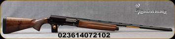 "Browning - 12Ga/3""/30"" - A5 Hunter - Semi Auto Shotgun - Gloss Finish Walnut Stock/Matte Black, Vent Rib Barrel, 4 Round Capacity, Mfg# 0118003003"