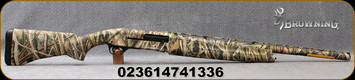 "Browning - 10Ga/3.5""/26"" - Gold 10 Gauge Field - Semi-Auto Shotgun - Mossy Oak Shadow Grass Blades Finish, Standard Invector interchangeable choke tube system, 4 round capacity, Mfg# 011292114"