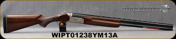 "Winchester - 12Ga/3""/28"" - Model 101 Light - O/U Shotgun - Grade II High Gloss Turkish Walnut/Engraved Nitride Receiver/Blued Barrels, (3)Invector Plus Flush Chokes(F,M,IC), Mfg# 513060392, S/N WIPT01238YM13A"