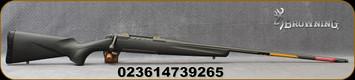 """Browning - 30Nosler - X-Bolt Pro Tungsten - Bolt Action Rifle - Carbon Fiber Composite Stock/Tungsten Cerakote Finish, 26""""Fluted, Threaded Barrel, 1:8""""Twist, 3 Round Magazine, Mfg# 035459295"""