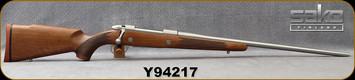 """Sako - 300WinMag - 85L Hunter Stainless - Oil-Finish Walnut Stock/Stainless, 24.5""""Barrel, Single Stage Trigger, 1:11""""Twist, Mfg# SBX33H61A, S/N Y94217"""