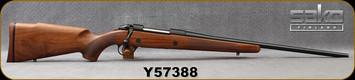 "Sako - 270Win - Model 85 M Hunter - Bolt Action Rifle - Oil-Finish Walnut Stock/Blued Finish, 22.4""Barrel, Single Stage Trigger, 1:10""Twist, 5 round detachable box magazine, Mfg# SAW21H61A, S/N Y57388"