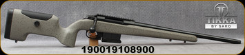 "Tikka - 308Win - T3x (UPR)Ultimate Precision Rifle - Bolt Action Rifle - Carbon fiber/Fibreglass Composite stock/Blued Steel CR-MO Alloy, 20""Threaded(5/8x24) Barrel, Adjustable Trigger, Mfg# TF1T2939A594964"