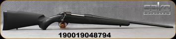 "Sako - 30-06Sprg - Synthetic Black - Bolt Action Rifle - Black Synthetic Stock/Matte black, 22.4""fluted barrel, 1:11""Twist, Single Stage Trigger, Mfg# SAW31SL1A"