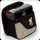 Browning - Cimmaron Shell Box Carrier w/Metal Clip - Nylon - Black - 121030094