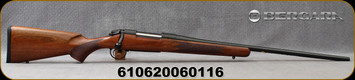 """Consign - Bergara - 270Win - B-14 Woodsman - Bolt Action Rifle - Walnut Stock/Blued, 24""""Barrel, Button Rifled, 1:10"""" Twist - Oil finish has imperfections/rough texture - New, in original box"""