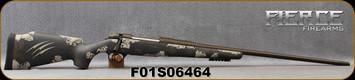 """Fierce - 6.5PRC - Fury - Midnight Brown/Tan Carbon Finish(Tan Claw)/Midnight Bronze Cerakote Finish, 24""""Threaded Barrel, 1:8""""Twist, Titanium Muzzle Brake, Bi-Pod Rail, Spare Magazine, S/N F01S06464"""