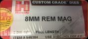 Hornady - Full Length Dies - 8mm Rem Mag - 546384