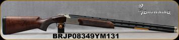 "Browning - 12Ga/3""/30"" - Citori Model 725 Sporting - Over/Under Shotgun - Grade III/IV Walnut Stock Silver Receiver Blued, Vent Rib Barrels, 2 Rounds, Mfg# 0135313010, S/N BRJP08349YM131"