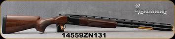 "Browning - 12Ga/3""/28"" - Citori CX - O/U - Gloss Finish Grade II American walnut/High Polished Blued Steel Finish, Invector-Plus Midas Choke System (3), Mfg# 018115304, S/N 14559ZN131"