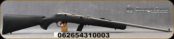 "Savage - 22LR - Model 64 FSS - Semi Auto Rifle - Black Synthetic Stock/Stainless Finish, 20.5""Barrel, 10 Round Detachable Magazine, Mfg# 31000"