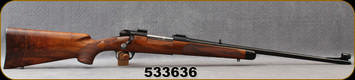 Consign - Jerry Fisher - Winchester - 270Win - Pre-'64 Model 70 Featherweight Custom - Grade AAA Walnut/Blued, 22″ Factory featherweight barrel - In Black Flambeau hard plastic case - Continued in Description