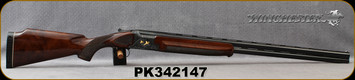 "Consign - Winchester - 12Ga/2.75""/30"" - Model 101 Presentation Grade - Grade AA Walnut/Engraved Blued Receiver w/Gold Inlay/Blued, Vent-Rib Barrels, Fixed Chokes(F/M) - In fitted leather case"