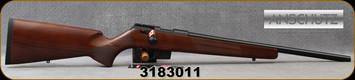 "Anschutz - 22LR - 1761 D HB Classic - Bolt Action Rifle - Walnut Classic Stock/Blued, 20.25""Barrel, single-stage trigger, 5 round detachable magazine, Mfg# 014527, S/N 3183011"