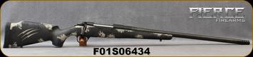 "Fierce - 300PRC - Carbon Fury - Bolt Action Rifle - Urban Camo - Carbon Tan/Black Carbon Finish proprietary carbon fiber stock/Black Cerakote, hand-lapped, cryogenically treated, match grade buttoned C3, 24""Carbon Wrapped Barrel, Titanium M.Brake"
