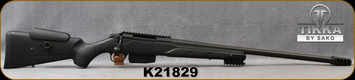 """Consign - Tikka - 308Win - Model T3 TAC - Black Synthetic Stock/Blued, 23.7""""Barrel, c/w Muzzle Brake, Bipod - only 40 rounds fired"""